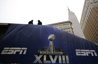 Super Bowl Boulevard Football
