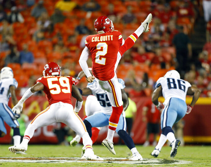 Tennessee Titans at Kansas City Chiefs 8/31/2017