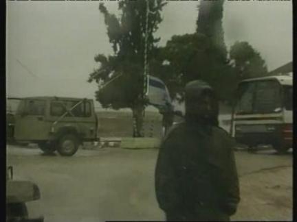 WEST BANK: ISRAELI TROOPS BEGIN WITHDRAWAL (3)
