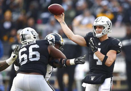 Steelers Raiders Football