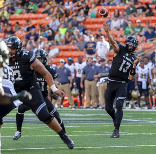Navy Hawaii Football