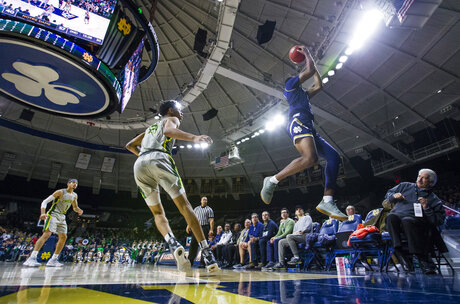 Chicago St Notre Dame Basketball