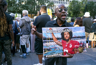 Colin Kaepernick Rally