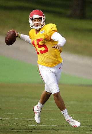 Chiefs Camp Football