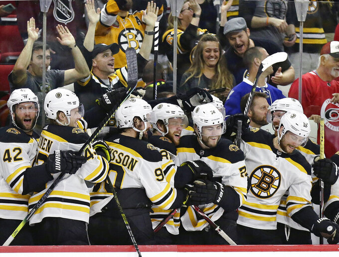 Bruins hoping to win Stanley Cup, join Boston's title parade