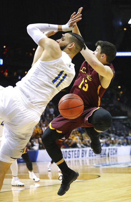 NCAA Loyola Chicago Nevada Basketball