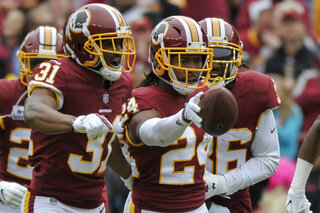 Panthers Redskins Football