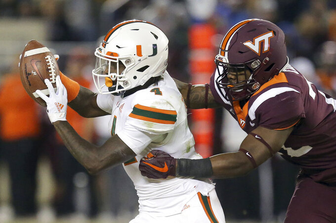 Miami announces that WR Jeff Thomas is off its football team