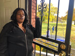 """In this Nov. 5, 2019, photo, Annette Brock, who plans to be counted in the 2020 census, talks in Detroit. """"I don't blame nobody if they don't want to participate, or if they don't want to help, or if they don't want to say nothing no more,"""