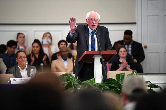 Election 2020-Bernie Sanders