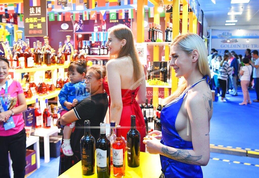 CHINA WINE GIRLS POPULARITY 12TH CHINA-NORTHESAT ASIA EXPO