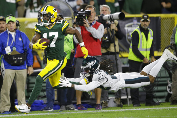 Packers prep for Cowboys with WR Adams day to day