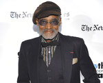 """FILE - Gotham Tribute Honors recipient, filmmaker Melvin Van Peebles attends the 18th Annual Gotham Independent Film Awards at Cipriani Wall Street on Tuesday, Dec. 2, 2008, in New York. Van Peebles, a Broadway playwright, musician and movie director whose work ushered in the """"blaxploitation"""" films of the 1970s, has died at age 89. His family said in a statement that Van Peebles died Tuesday night, Sept. 21, 2021, at his home. (AP Photo/Evan Agostini, File)"""