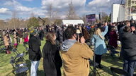 US Inauguration Biden Crowd