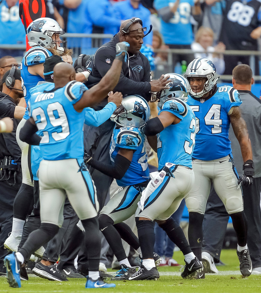Panthers Top Defense Football
