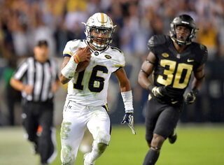 Georgia Tech Marshall Football