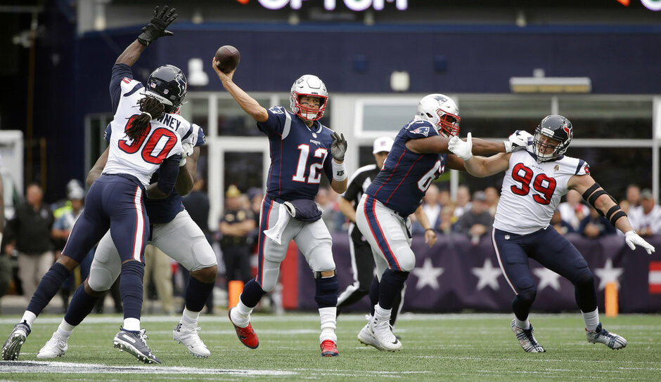 Texans Patriots Football