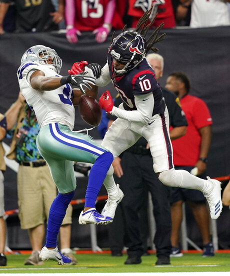 Byron Jones, DeAndre Hopkins
