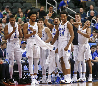 NCAA Rhode Island Duke Basketball