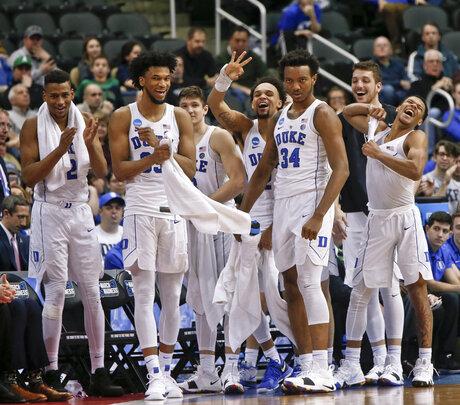 NCAA Rhode Island Duke Basketball