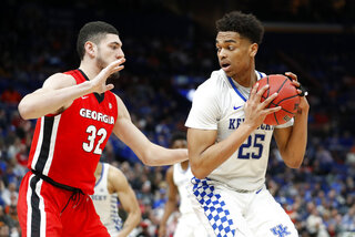 SEC Georgia Kentucky Basketball