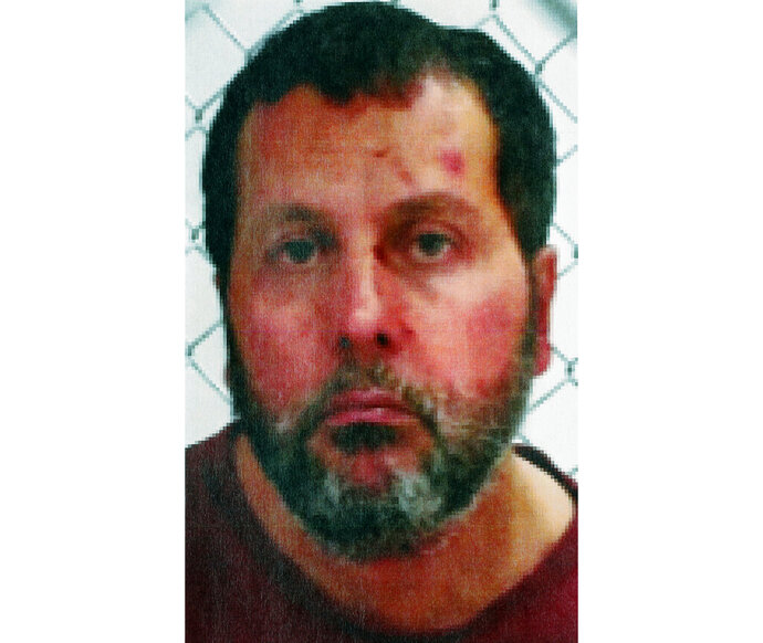 FILE - This undated file photo released by the FBI, shows Amor Ftouhi. Federal prosecutors are seeking a life sentence for the Tunisian native from Canada who was convicted of terrorism for nearly killing a Michigan airport police officer in 2017. Ftouhi is returning to federal court on Thursday, April 18, 2019. (FBI via AP, File)