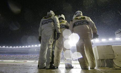 NASCAR Texas Repaving Auto Racing