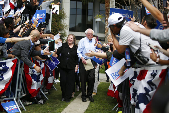 Jane Sanders, Bernie Sanders