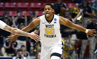 NCAA Marshall West Virginia Basketball