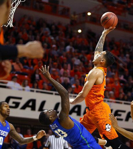 NIT Florida Gulf Coast Oklahoma St Basketball
