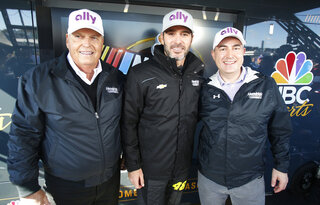 Jimmie Johnson, Rick Hendrick, Jeffery Brown