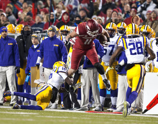 LSU Arkansas Football