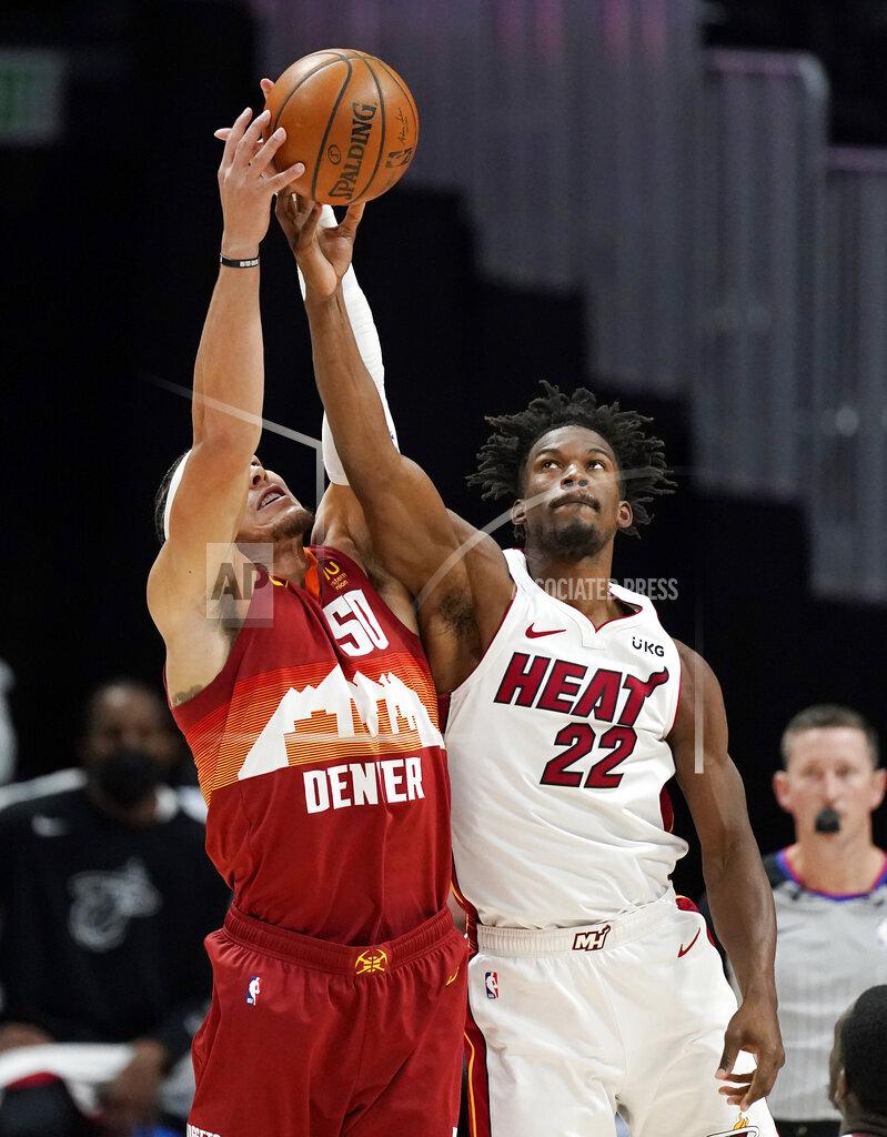 Heat Nuggets Basketball