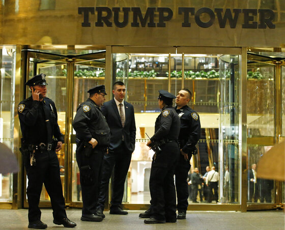 Trump Tower Suspicious Powder