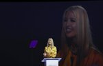 Ivanka Trump, the daughter and senior adviser to U.S. President Donald Trump, delivers the keynote address at the Global Women's Forum in Dubai, United Arab Emirates, Sunday, Feb. 16, 2020. (AP Photo/Kamran Jebreili)