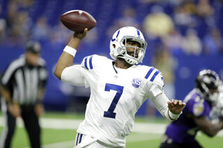 Colts Brissett Chance Football