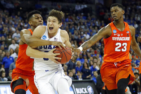 APTOPIX NCAA Syracuse Duke Basketball