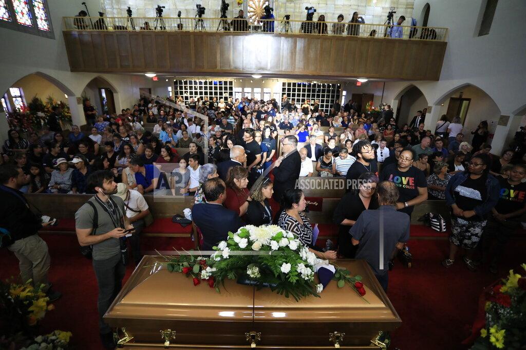 Mass Shooting-Texas-Funeral