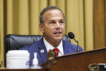 Rep. David Cicilline, D-R.I., speaks during a House Judiciary subcommittee hearing on antitrust on Capitol Hill on Wednesday, July 29, 2020, in Washington. (Graeme Jennings/Pool via AP)