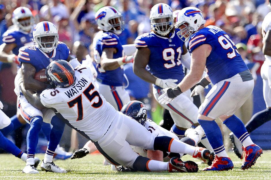 Broncos Bills Football