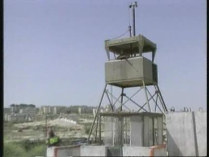Gaza/West Bank/Israel - Israel Seals Territories