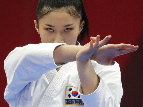 Indonesia Asian Games Karate