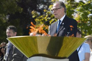 Switzerland IOC Olympic Flame