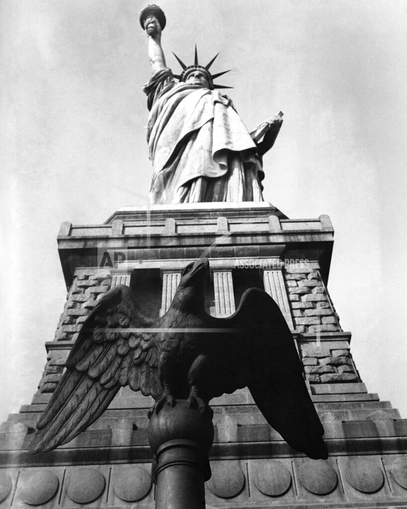 Watchf AP A  NY USA APHS291168 Statue Of Liberty 1934