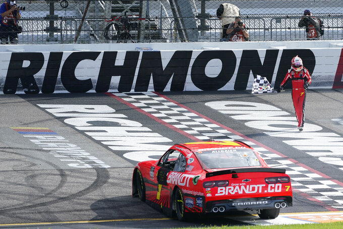 Justin Allgaier completes Xfinity weekend sweep at Richmond
