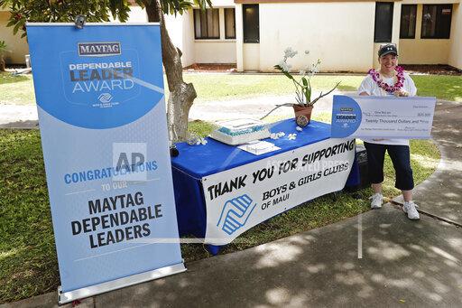 Maytag Dependable Leader Award - Boys & Girls Clubs of Maui