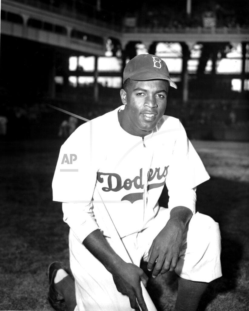 Associated Press Sports New York United States Professional Baseball (American League) DODGERS JACKIE ROBINSON