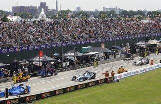 IndyCar-Detroit-Public Auto Racing