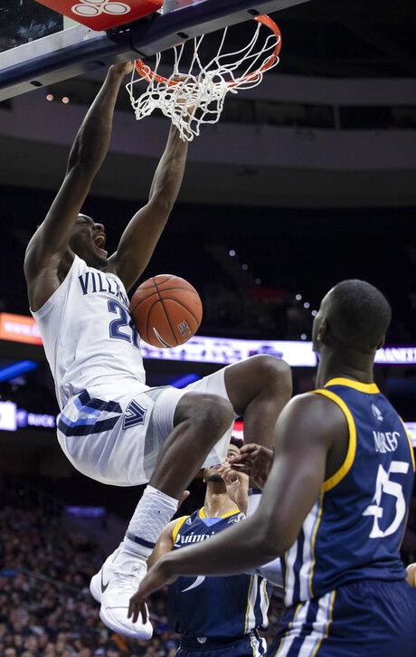 Quinnipiac Villanova Basketball