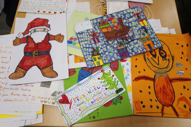 Envelopes addressed to